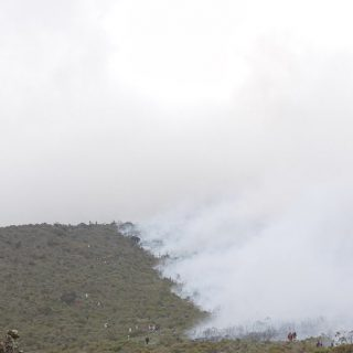Tanzania sees progress on Kilimanjaro wildfire