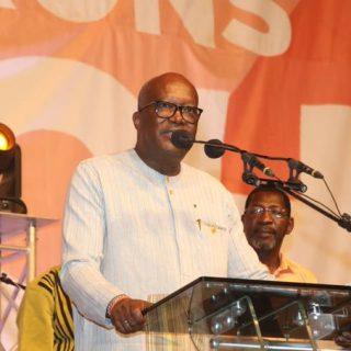 Kaboré re-elected in Burkina Faso