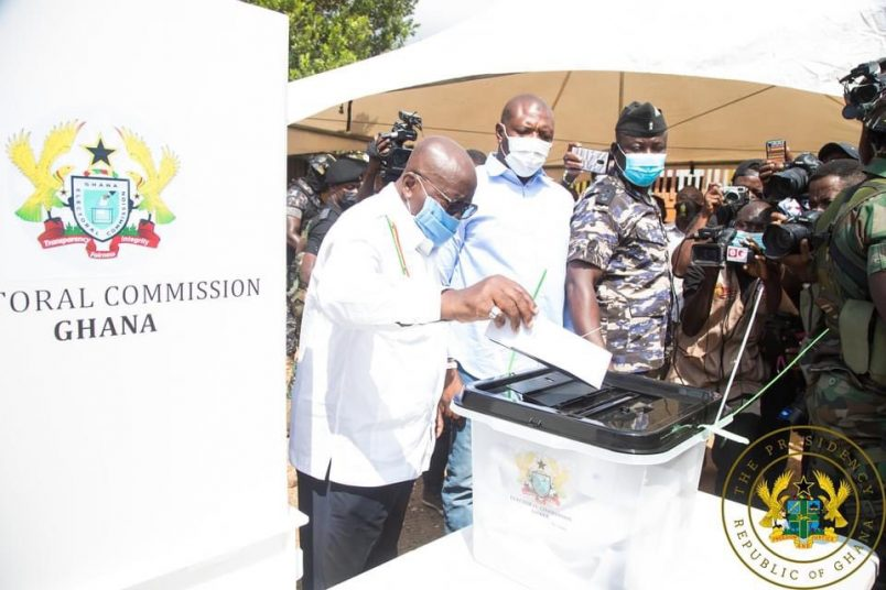Polls close in Ghana with 2 injured in shooting
