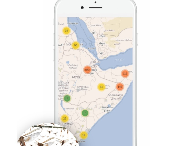 Kenyan firm offers farmers AI-based locust monitoring tech
