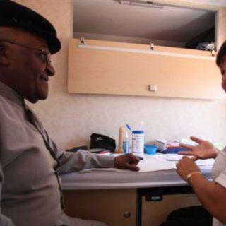 South Africa's Tutu promotes COVID vaccine acceptance
