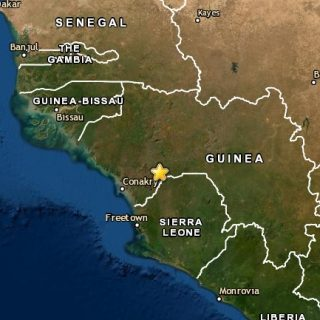 Rare 5.0-quake jolts Guinea in West Africa