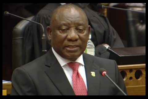 Ramaphosa centers COVID, corruption during SONA address