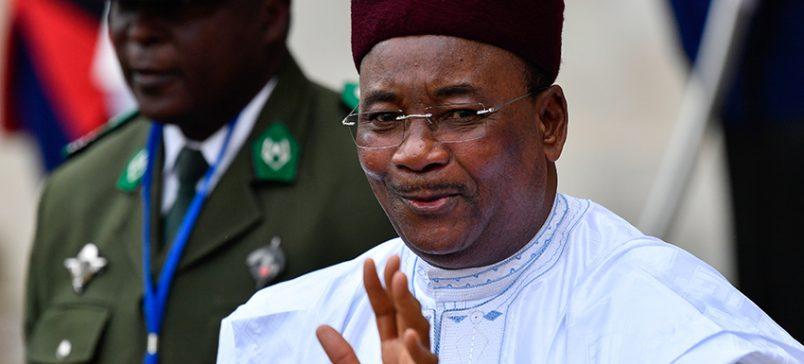 Issoufou awarded Ibrahim Prize for Achievement