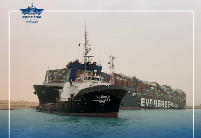 Update: 237 ships waiting amid Suez Canal complications