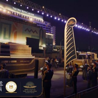 Egypt dazzles with Pharoahs' Golden Parade