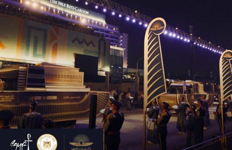 Egypt dazzles with Pharoahs' Golden Parade