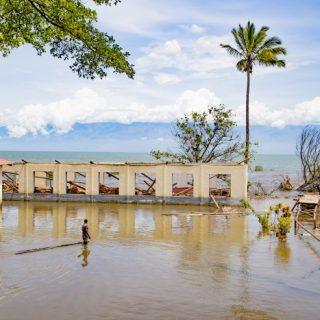 Burundi villages inundated by water rise on Lake Tanganyika