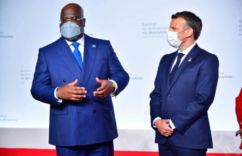 Macron, Tshisekedi host economic summit for African leaders