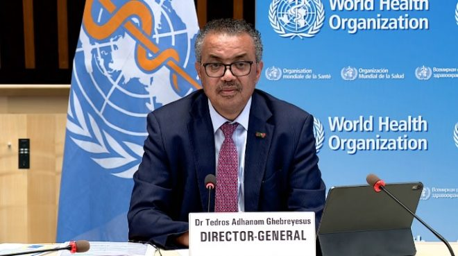 WHO's Tedros: 'Trickle down vaccination is not an effective strategy'