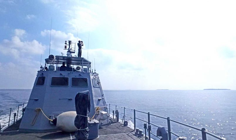 Maldives launches search for Chinese rocket debris