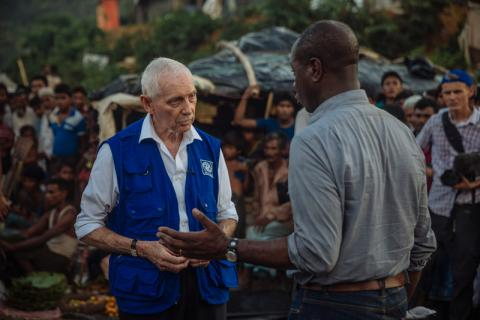 William Lacy Swing, former IOM head and U.S. diplomat in Africa, dies