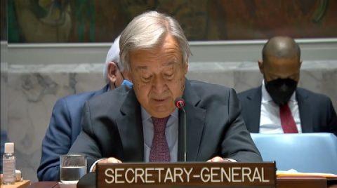 Guterres, Security Council focus on Tigray crisis