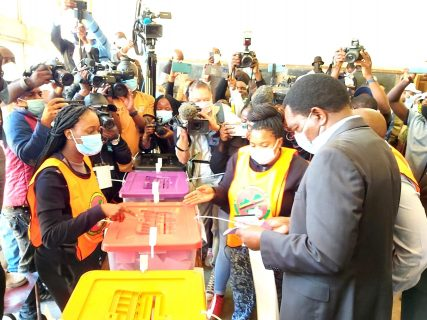 Hichilema, USAID's Power discuss Zambia's future