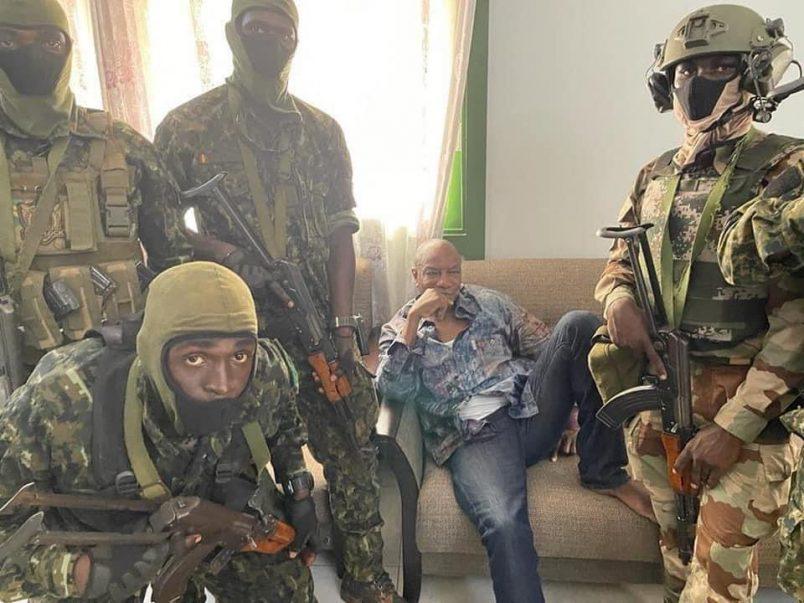 AU, UN call for Condé's release after Guinea coup