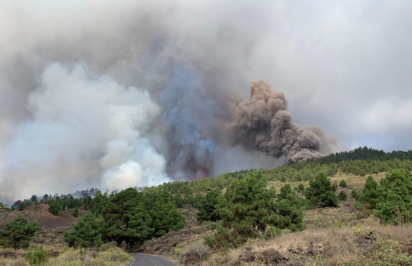 Evacuations follow Canary Island eruption